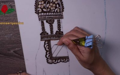 Do It Yourself – Tutorials – learn to create your own layout and mehendi design : easy simple mehndi design reverse element| pt 6