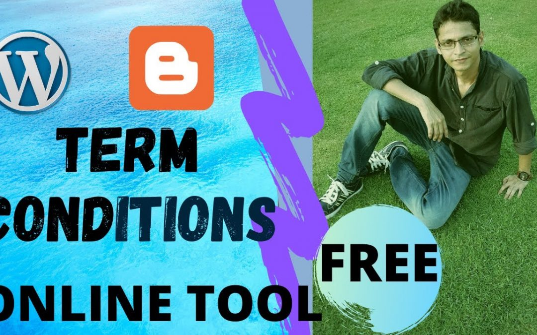 Free Terms and Conditions Page for Blogger/websites | WordPress | Online Tools | Exchange Wala |