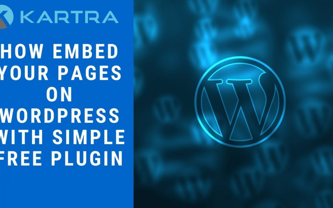 How To Embed Karta Pages On Your Wordpress Website Using A Simple Plugin