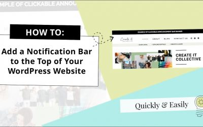 How to Add Announcement Bar Banner to Your WordPress Website [2020]