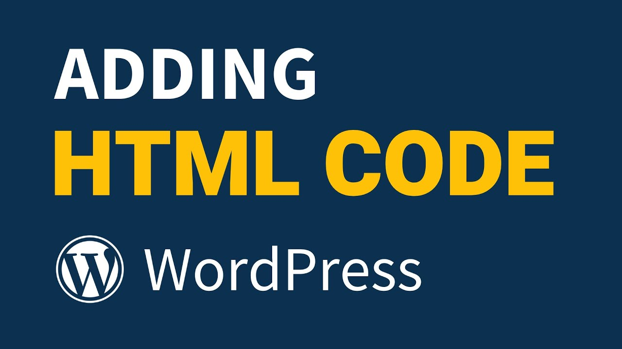 How to Add HTML to WordPress for Beginners [Simple]