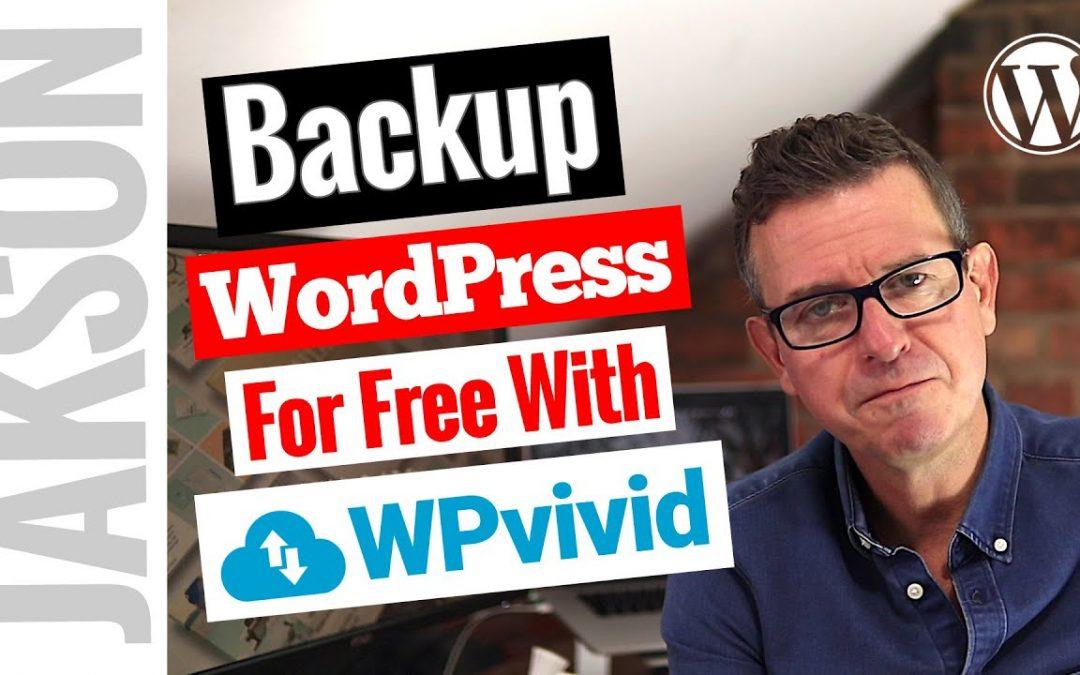 How to Backup, Automate Backups and Transfer a WordPress Site - WPvivid Free WordPress Backup Plugin