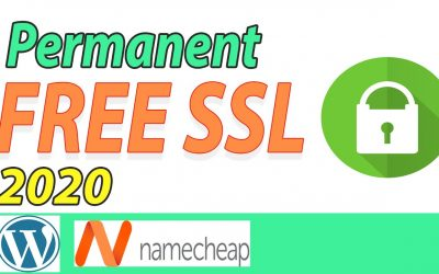 How to get Permanent Free SSL certificate for any WordPress Website with Namecheap domain