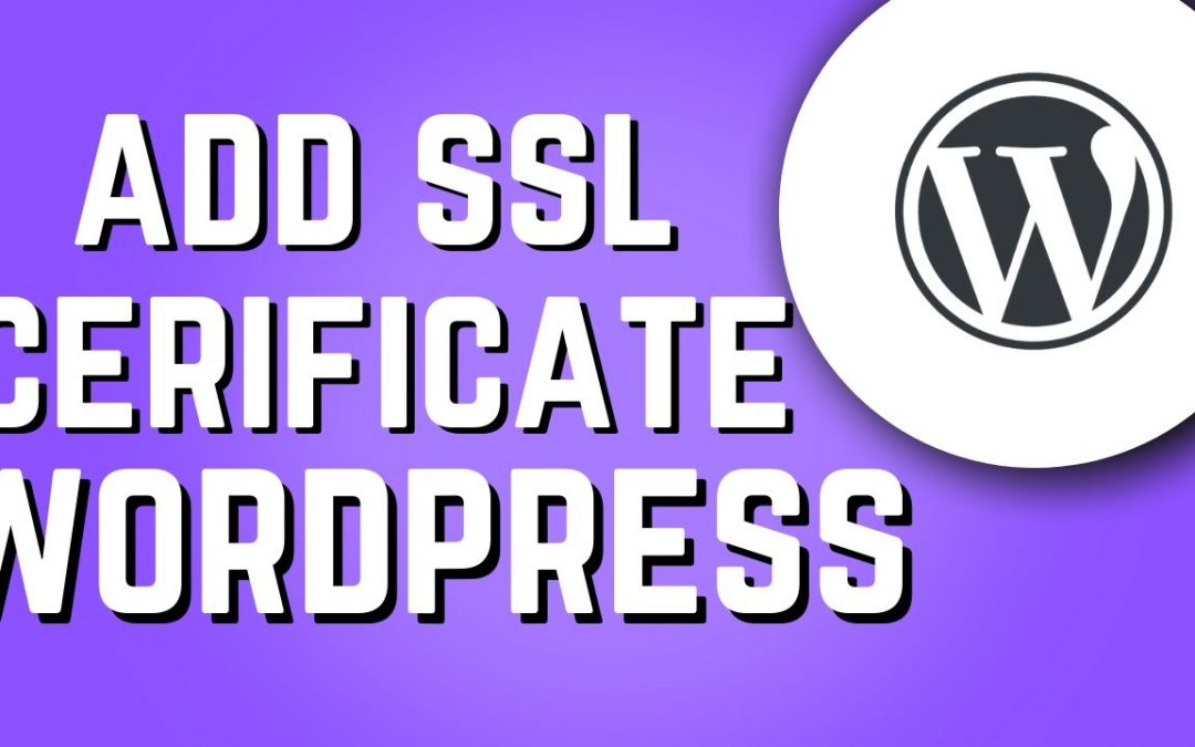 How to get a free SSL on Wordpress! (2020)
