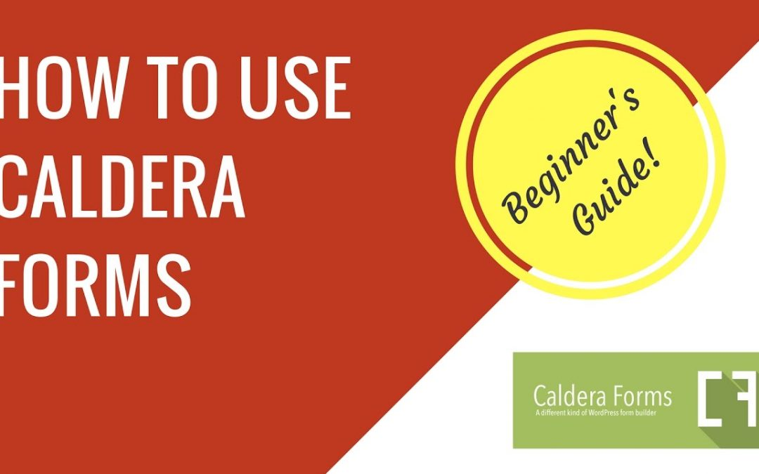 How to make a contact form with Caldera Forms in WordPress | Beginner's guide