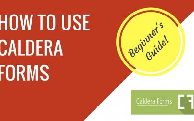 How to make a contact form with Caldera Forms in WordPress   Beginner's guide