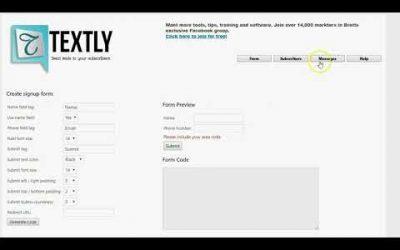 Textly Review Demo   Send Bulk SMS Text Messages WordPress Plugin