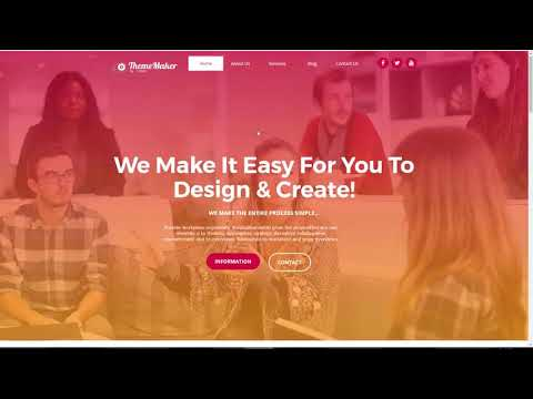 ThemeMaker Review Demo   Build High Converting WordPress Themes
