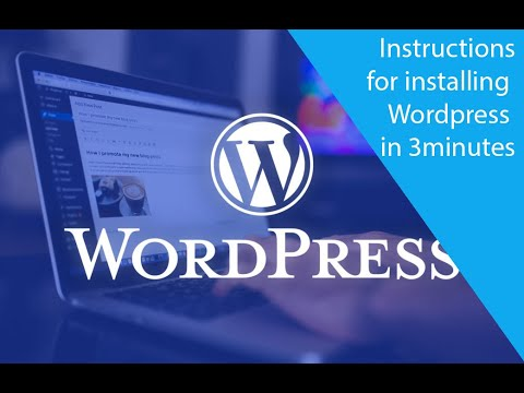 Vie Ideas | Instructions for installing Wordpress in 3 minutes 1