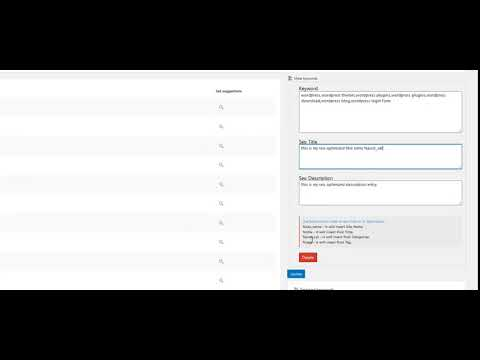 WP Keyword Ezy Review Demo   Best WordPress SEO Keyword Research Plugin