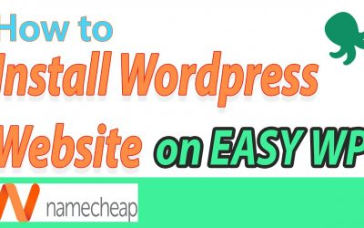 WordPress For Beginners – [2020] Namecheap EasyWP – How to Build a Website video tutorial for Beginners