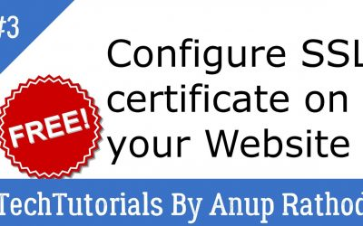 WordPress For Beginners – 3. Configure free SSL Certificate on your website using cPanel | WordPress Tutorial Beginners