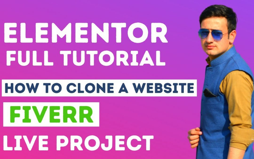 A Complete Elementor Page Builder Tutorial For Beginners | Live Fiverr Project #1