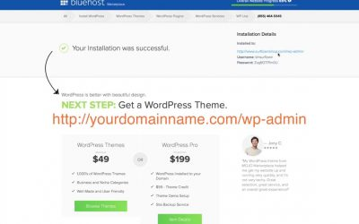 WordPress For Beginners – Bluehost WordPress Tutorial for Beginners