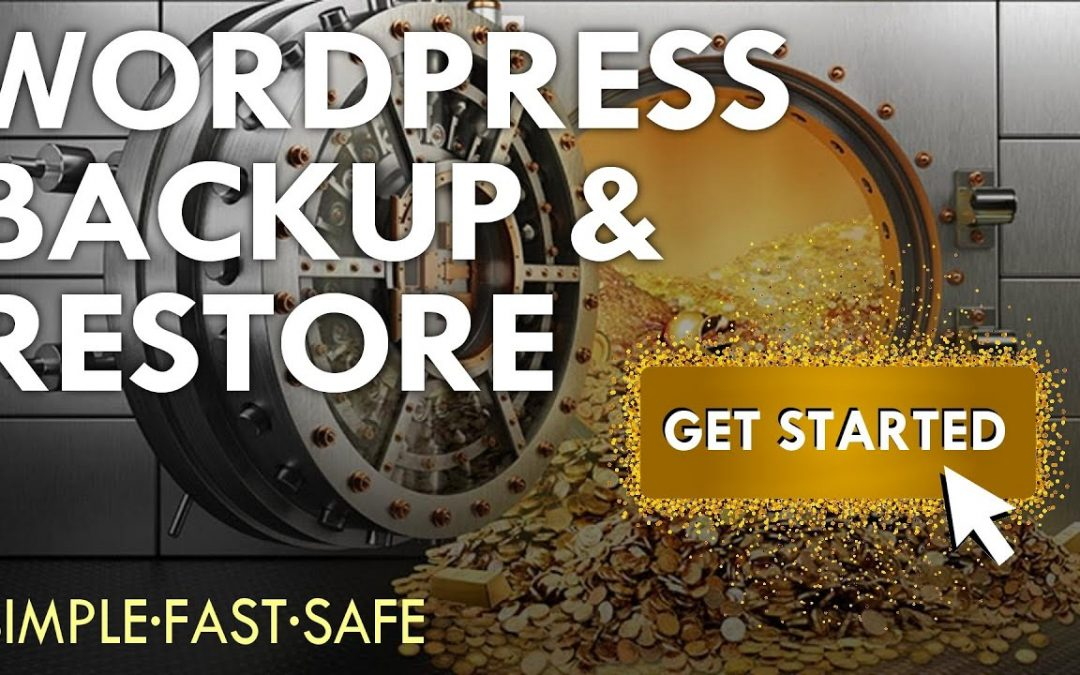 How To Backup A Wordpress Website In 5 Mins ~ 2020 ~ A  WordPress Backup And Restore Tutorial