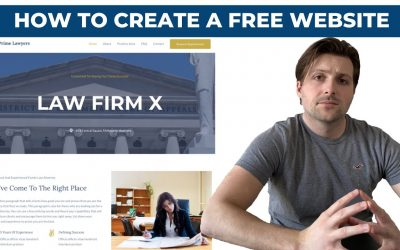 WordPress For Beginners – How To Create A Free WordPress Website For Lawyers (2020) | [From Scratch]