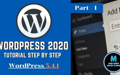 WordPress For Beginners – How To make a Website with WordPress, WordPress tutorial for beginners step by step 2020