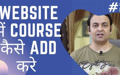 WordPress For Beginners – How to Add Courses In The Online Free Course Website Full Tutorial In HINDI [PART-2]  Techno Vedant