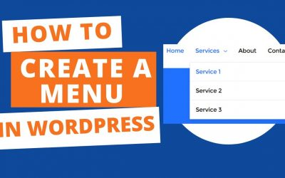 WordPress For Beginners – How to Create a Menu in WordPress (Step by step tutorial)