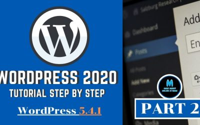WordPress For Beginners – How to Get Your Own WordPress Website, WordPress Tutorial for Beginners Step by Step 2020
