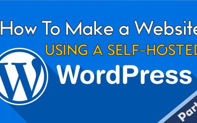 WordPress For Beginners – How to Make Website Using WORDPRESS | Step-by-Step Tutorial [Part 1]