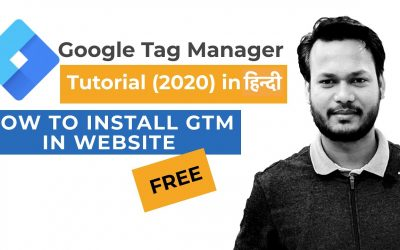 WordPress For Beginners – How to Setup Google Tag Manager in Hindi for Beginners 2020 | Google Tag Manager Tutorial