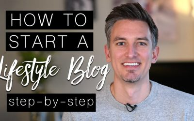 WordPress For Beginners – How to Start a Lifestyle Blog – Step by Step Tutorial for Beginners