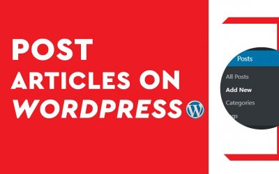 WordPress For Beginners – How to post news on WordPress – Create a new post in WordPress Tutorial for beginners 2020