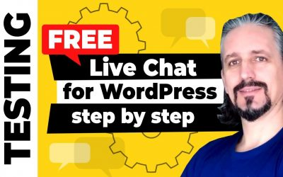 WordPress For Beginners – Live Chat for WordPress [FREE] Plugin Tutorial Step By Step