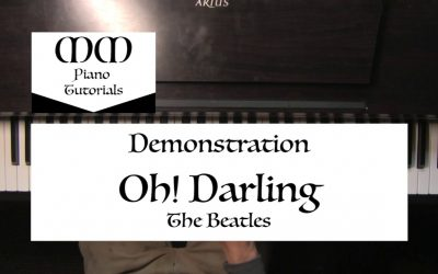 WordPress For Beginners – Oh! Darling (The Beatles) ~ Piano Cover