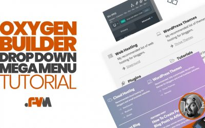 WordPress For Beginners – Oxygen Builder WordPress Drop Down Mega Menu Tutorial