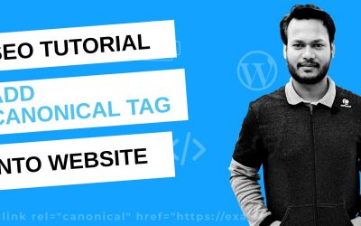 WordPress For Beginners – SEO Best Practice 2020 | Add Canonical Tag to Your Website and Prevent from Duplicate Content