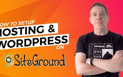 WordPress For Beginners – Siteground WordPress Tutorial – Hosting & WordPress Setup Guide 2019