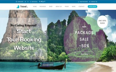 WordPress For Beginners – Start a Travel & Tour Booking Website in WordPress – Love Travel WP Theme Customization Tutorial