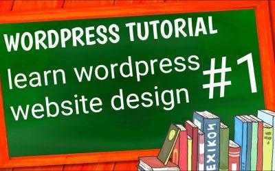 WordPress For Beginners – WORDPRESS FULL TUTORIAL || WORDPRESS LEARNING YOUTUBE – (2/3) E2