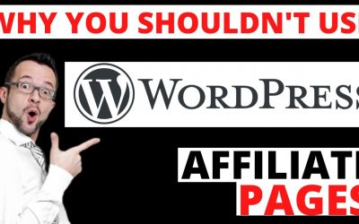WordPress For Beginners – Why You Shouldn't Use WordPress For Your Affiliate Pages