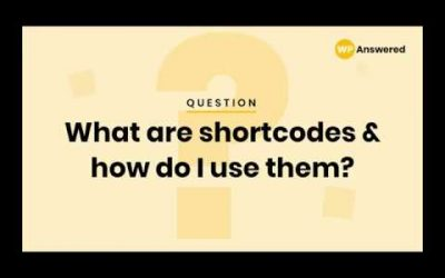 WordPress For Beginners – WordPress Shortcode Tutorial | How & Why to Use Shortcodes