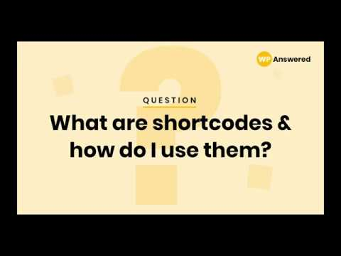 WordPress Shortcode Tutorial | How & Why to Use Shortcodes