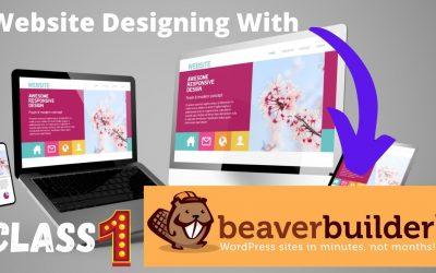 WordPress For Beginners – beaver builder tutorial 01 |How to create a website