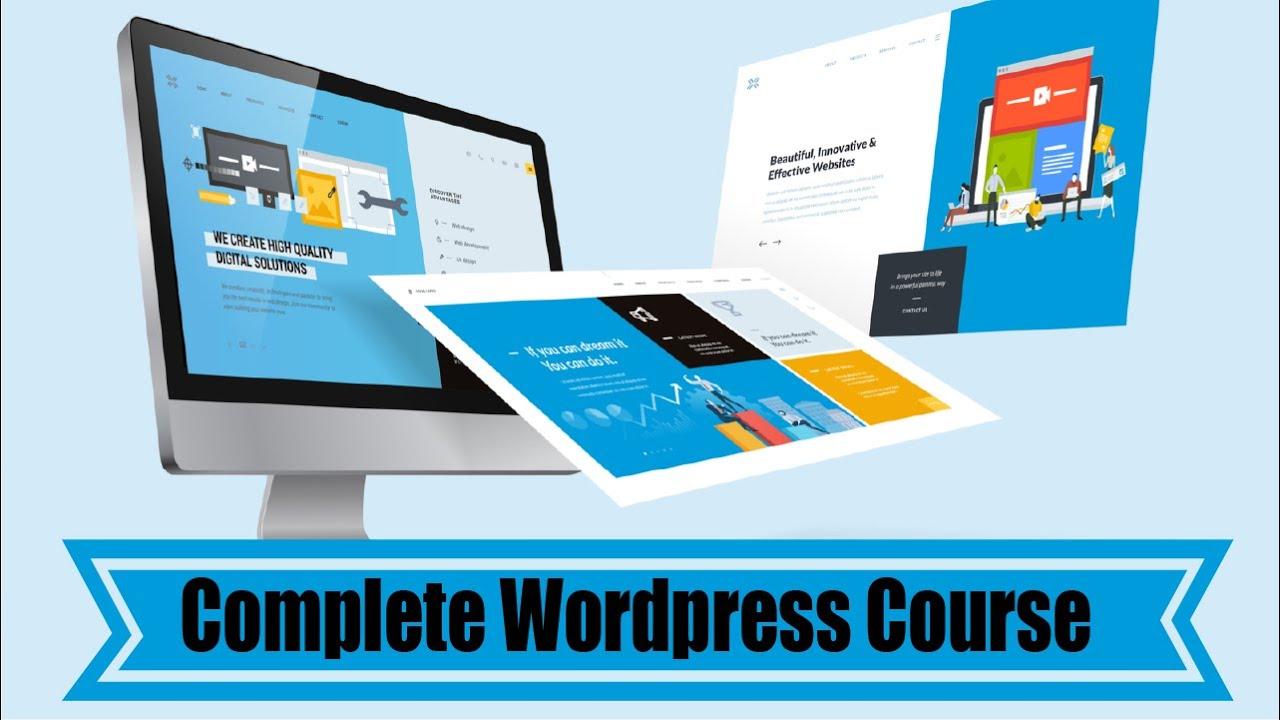 wordpress complete course | wordpress tutorial | wordpress for beginners | wordpress website | #1
