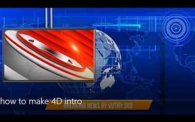 search engine optimization tips – 4D Breaking news intro – News intro 3D animation