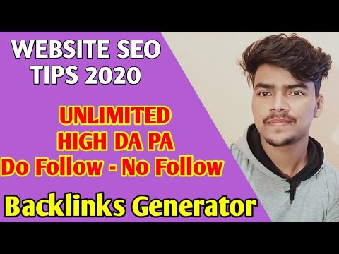Do Follow And No Follow Backlinks Generator | All Website Link | Backlink Generator Tools | New Seo