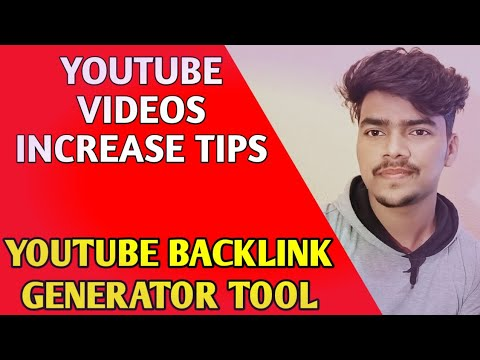 Free Youtube Backlink Generator Tool | Youtube Seo Tips 2020 | Make Youtube Video Backlinks