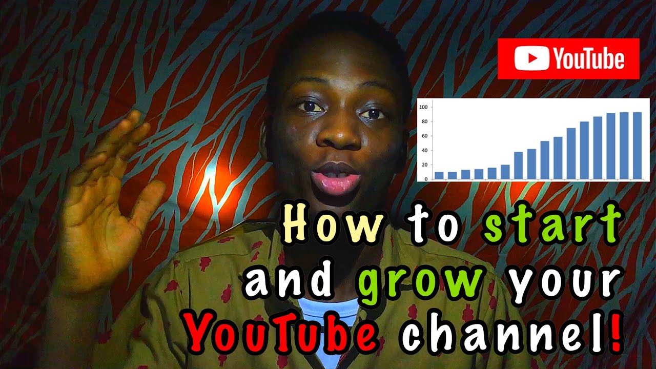 How to start and grow your YouTube channel!