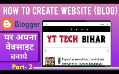 Do It Yourself – Tutorials – How To Create Website ( Blog ) In Hindi     Blog Kaise Banaye 2020    Create Blog Complete tutorial