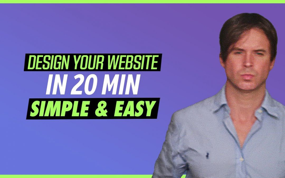 How To Design A Website From Scratch Tutorial  2020