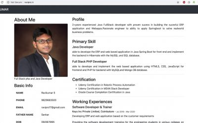 Do It Yourself – Tutorials – Own web profile creation   part 2