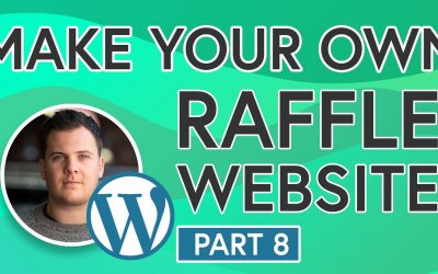 Do It Yourself – Tutorials – Easily Build Your Own Raffle Website [PART 8] – Picking Your Raffle Winners & Adding Winners Section