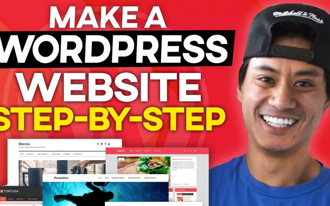 How to Make a Wordpress Website FOR FREE - Step by Step 2020!