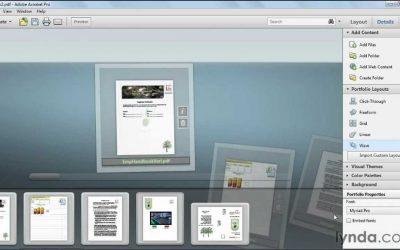 Do It Yourself – Tutorials – How to create a PDF portfolio   lynda.com tutorial
